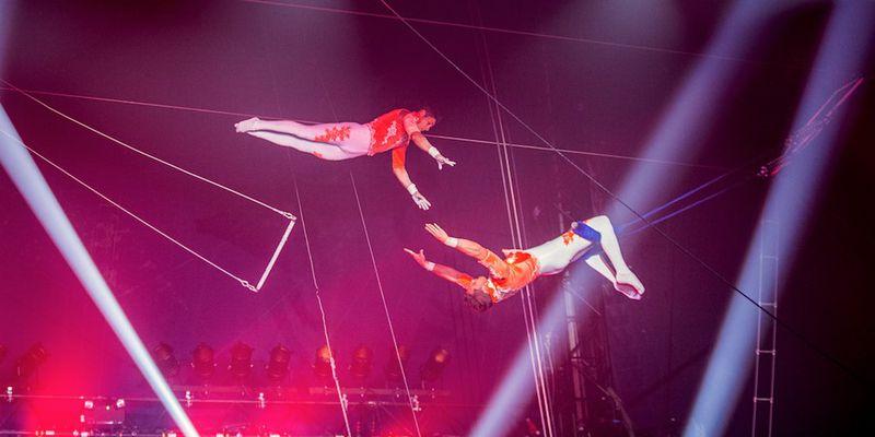 trapeziste cirque Bouglione