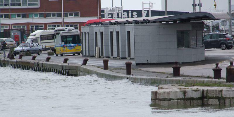 Le marché aux poissons Calais