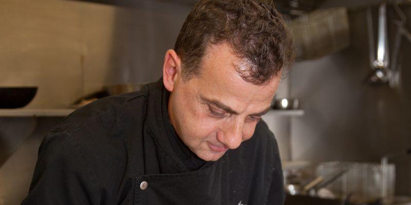 Le Chef Patrick Comte - Restaurant L'Histoire ancienne (Calais)