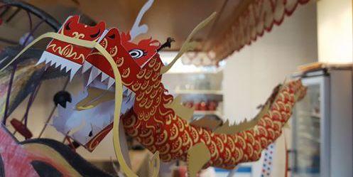 Maquette dragon