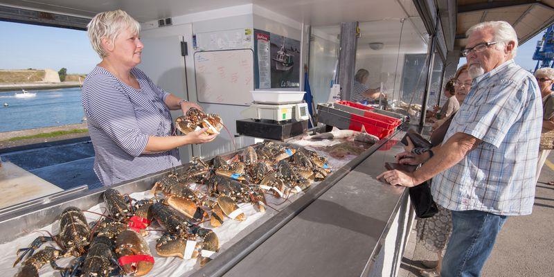 Le marché aux poissons