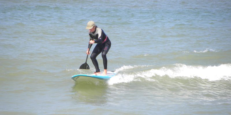Stand up paddle Sangatte
