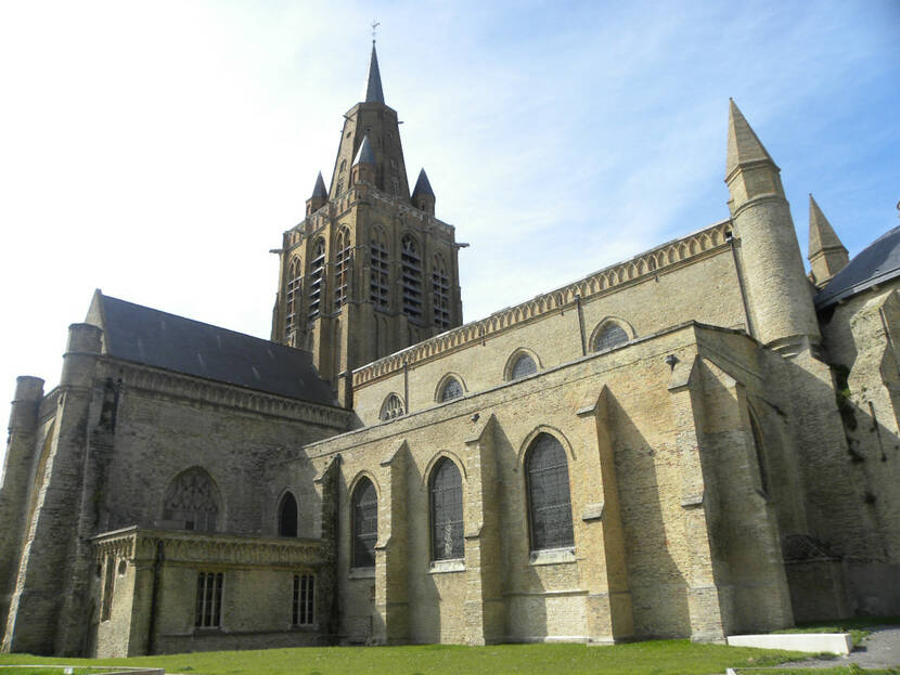 Calais, Eglise Notre-Dame