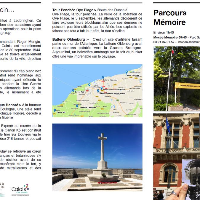 Parcours Mémoire Calais 19391945 Page 1